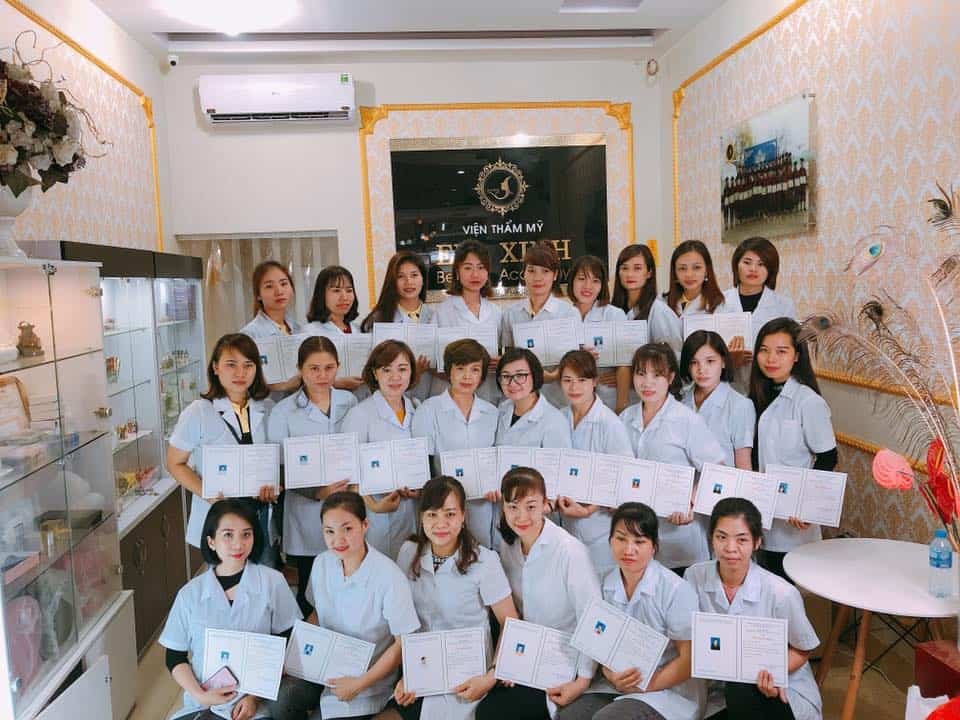 Top 06 Cơ Sở Đào Tạo Phun Thêu Điêu Khắc Thẩm Mỹ Nổi Tiếng Ở HCM - phun thêu điêu khắc thẩm mỹ - Eva Xinh Beauty Academy | Miss Tram Academy | Thẩm Mỹ Viện Tee 8 National 43