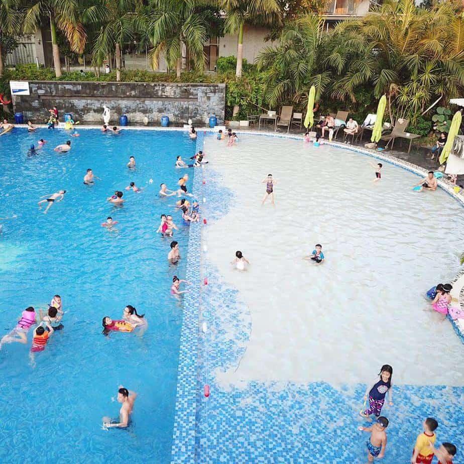 Top 05 Hồ Bơi Đẹp Sang Chảnh Tại Thành Phố Hồ Chí Minh - hồ bơi đẹp - Anna Spa | Hồ bơi Equatorial | Hồ bơi Landmark 11