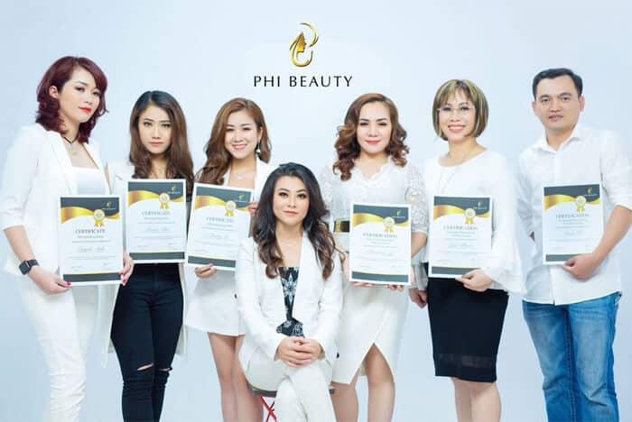 Top 08 Địa Chỉ Dạy Phun Xăm, Thêu, Điêu Khắc Chân Mày Tại HCM - học điêu khắc chân mày - Cali Beauty Academy | Eva Xinh Beauty Academy | Miss Tram Academy 25