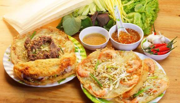 5. Bánh Xèo ngon Tôm Nhảy Thanh Diệu
