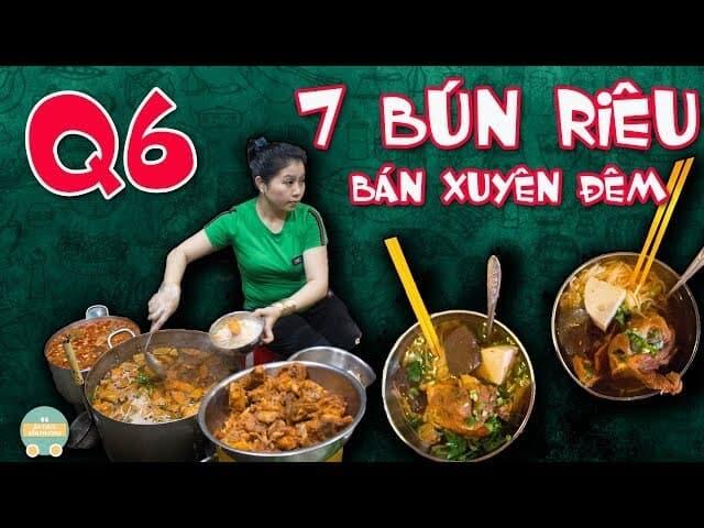 Top 5 Quán Bún Riêu Ngon Tại Tp Hồ Chí Minh -  - Bảy Bún Riêu | Bún riêu | Bún riêu bạch tuộc Nguyễn Thị Tần 13