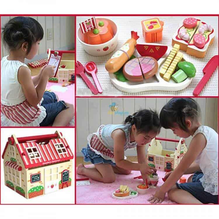 trò chơi dân gian gắn liền với tuổi thơ chơi đồ hàng