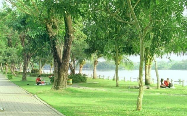 Công Viên Ven Sông Khu Dân Cư Tân Quy Đông