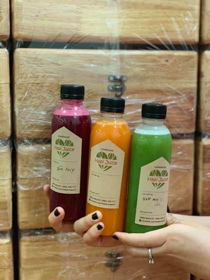 Top 06 Quán Sinh Tố, Nước Ép Trái Cây Tươi Ngon Tại HCM - nước ép trái cây - Banana's Juice Shop | Five Boys - Sinh Tố Bùi Viện | Hapi Juice Nana 106