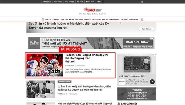 saostar.vn website thông tin giải trí hàng đầu tại Việt Nam
