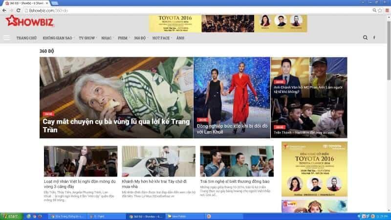 8showbiz.com website thông tin giải trí hàng đầu tại Việt Nam