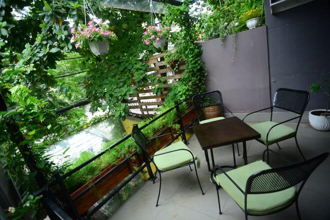 Top 07 Quán Cà Phê Nhiều Cây Xanh Tại Hồ Chí Minh -  - Cafe bản Sonate | Café Terrace | Fly Cupcake Garden 43