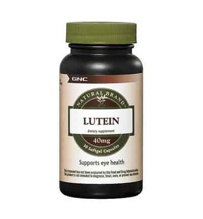 Thuốc bổ mắt GNC Lutein 40mg là thuốc bổ mắt tốt nhất dành cho người già