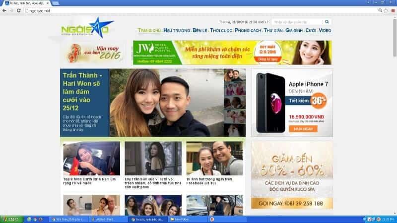 ngoisao.net website thông tin giải trí hàng đầu tại Việt Nam