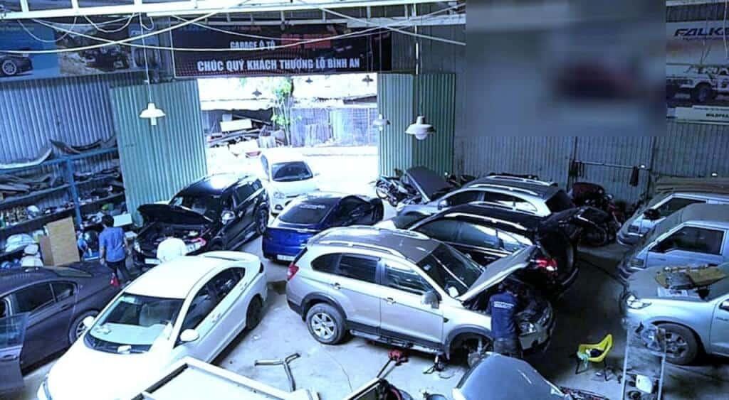 Gara sửa xe ô tô Gia Định top dịch vụ sửa chữa ôtô uy tín