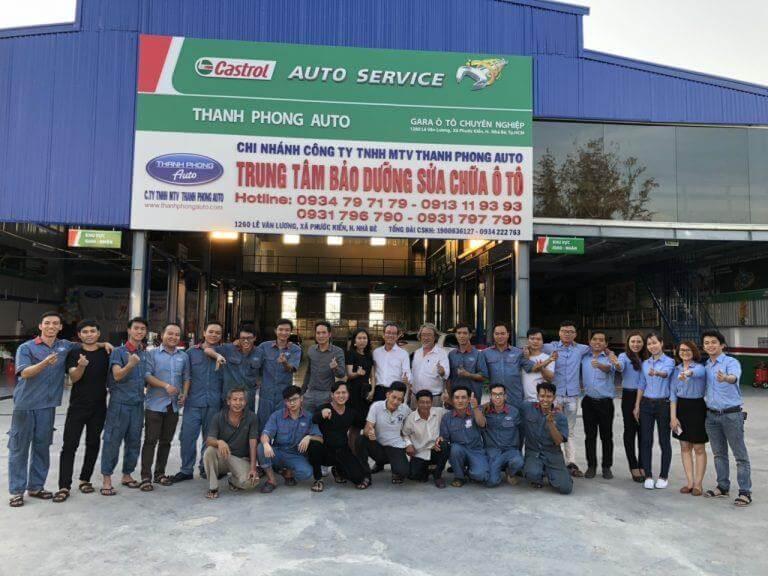 Gara Thanh Phong Auto là một trong các dịch vụ sửa chữa ôtô uy tín tại Sài Gòn