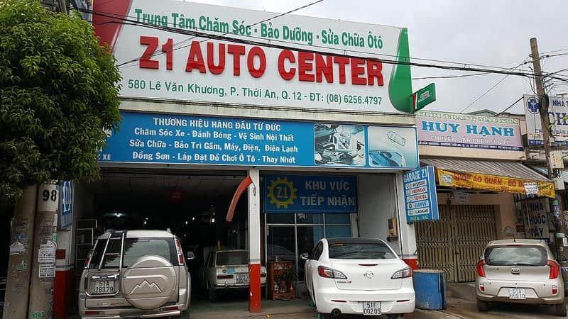 Dịch vụ sữa chữa ô tô <strong>Z1 Auto Center