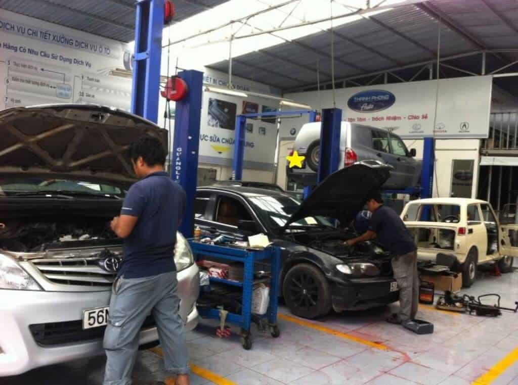 Thanh Phong Auto một trong số các dịch vụ sửa chữa ôtô uy tín
