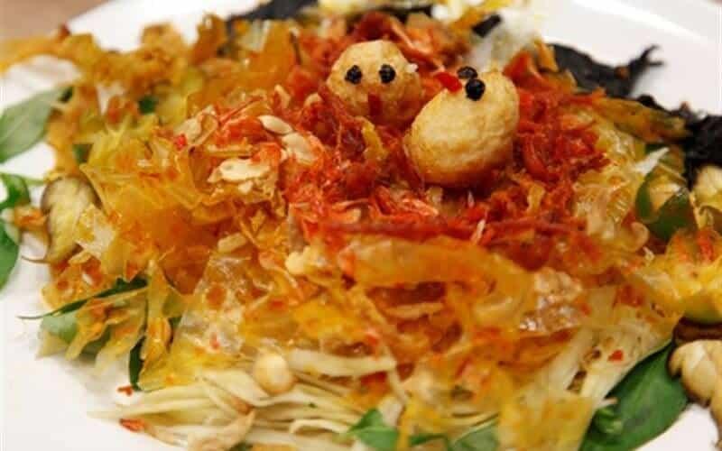 Top 5 Món Ăn Vặt Có Giá Sinh Viên Tại Sài Gòn -  - Bánh tráng cuốn sốt bơ me | Bánh tráng trộn | Gỏi khô bò 23