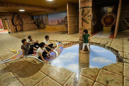 Top 6 Địa Điểm Vui Chơi Cho Trẻ Được Yêu Thích Nhất Đà Nẵng - - Bảo tàng tranh 3D Art In Paradise | Cung văn hóa thiếu nhi | Đà Nẵng 39