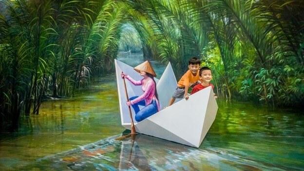 Top 6 Địa Điểm Vui Chơi Cho Trẻ Được Yêu Thích Nhất Đà Nẵng - - Bảo tàng tranh 3D Art In Paradise | Cung văn hóa thiếu nhi | Đà Nẵng 37
