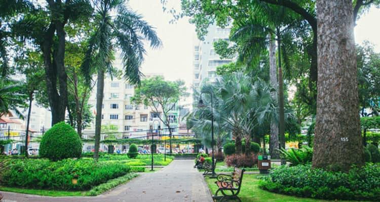 Top 4 Công Viên Là Lá Phổi Xanh Giữa Thành Phố Hồ Chí Minh 3