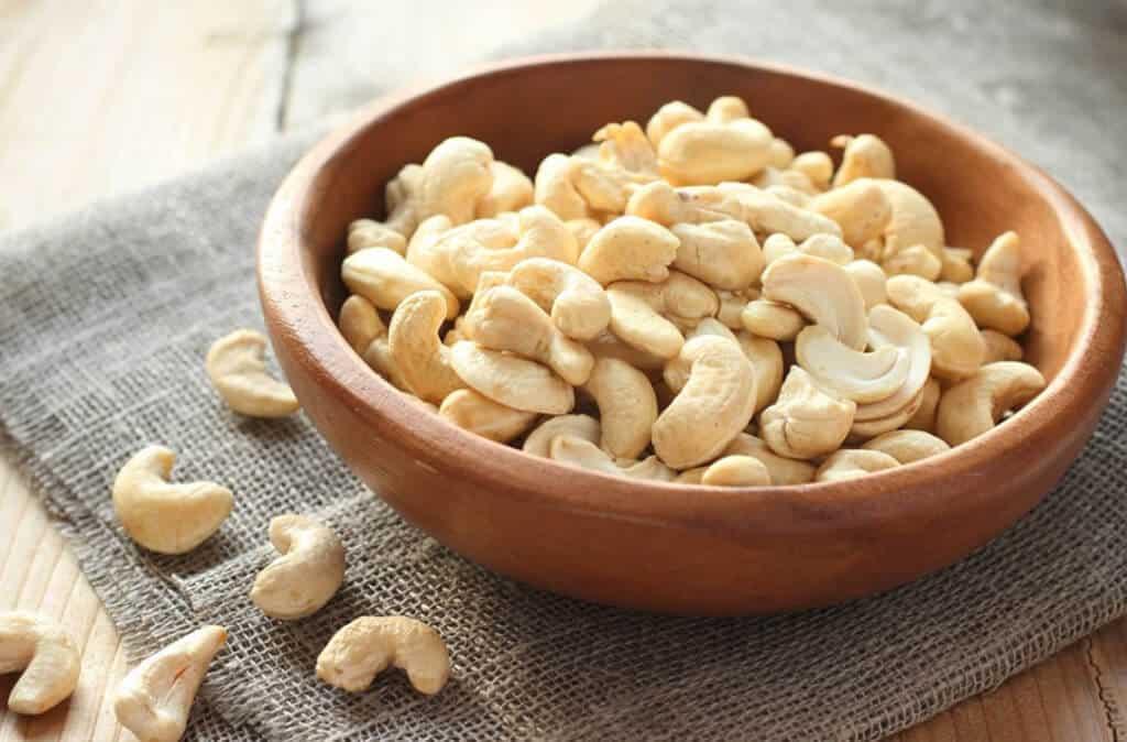 Hạt điều cũng là một trong các loại hạt giảm cân