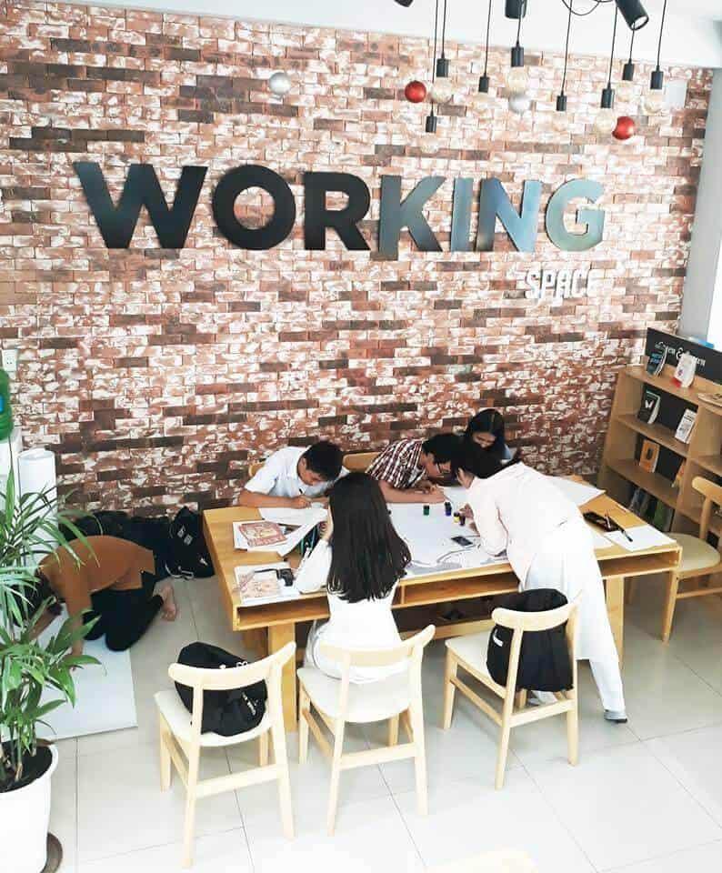 Top 5 Quán Cafe Sách Đẹp Nhất Đà Nẵng -  - Green & Brown Bookstore | Nhã Nam Books N' Coffee | The Book Library & Cafe 31