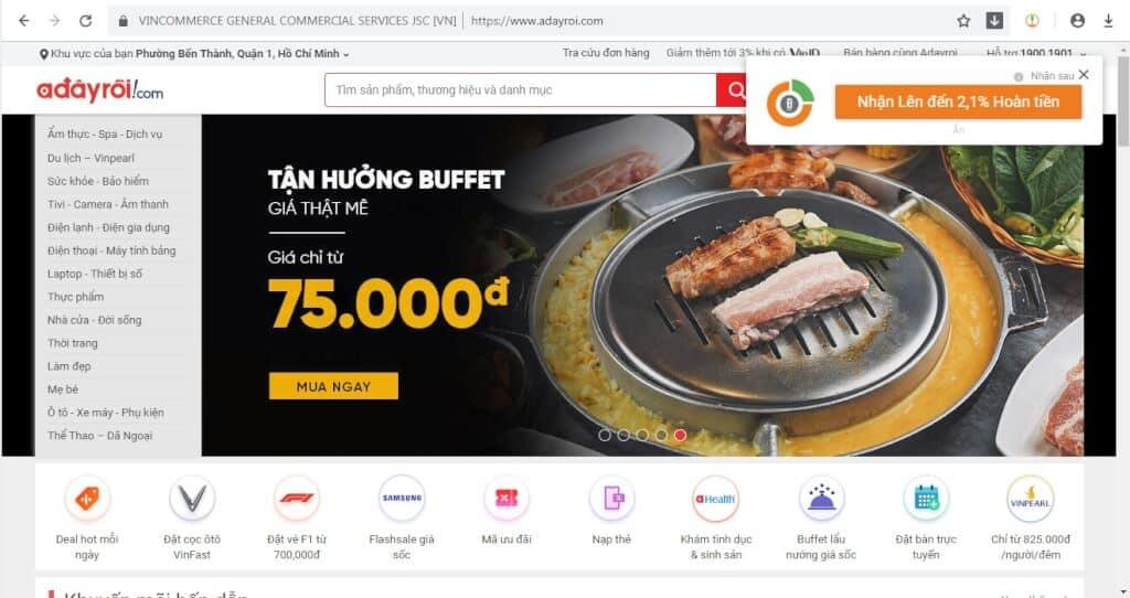 Top 5 Website Bán Máy Hút Bụi Uy Tín Nhất -  - Adayroi.com | Lazada.vn | Meta.vn 11
