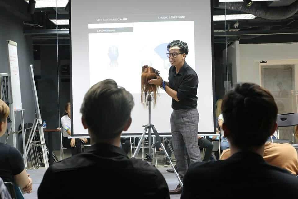 trung tâm dạy học nghề cắt tóc tại tphcm