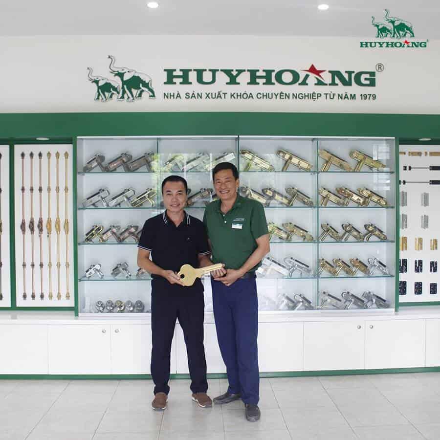 Các sản phẩm khóa của công ty TNHH Khóa Huy Hoàng