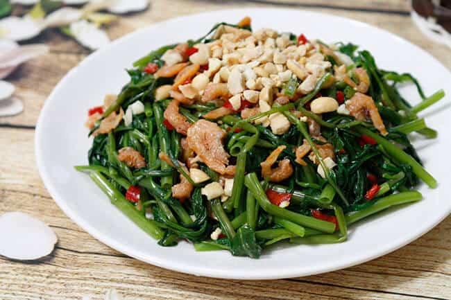 Những  Công Thức Chế Biến Các Món Ngon Từ Rau Muống Và Rau Lang -  - Món Ngon Thuần Việt | Món Nộm | Rau Lang 11