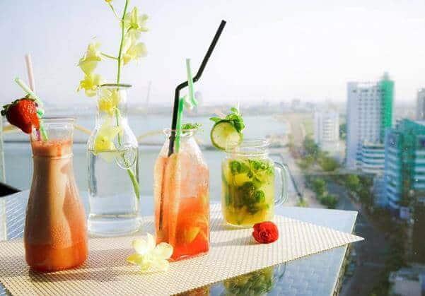 Top 5 Quán Cafe Bar Sân Thượng Có View Đẹp Nhất Đà Nẵng -  - Brilliant Top Bar – Brilliant Hotel Da Nang | Café Bar Skye36 | Coffee Bar Sunset 31