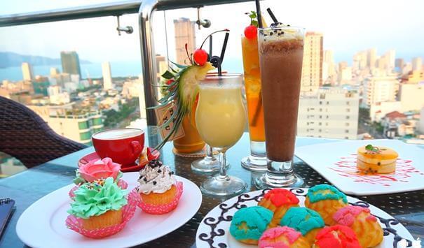 Top 5 Quán Cafe Bar Sân Thượng Có View Đẹp Nhất Đà Nẵng -  - Brilliant Top Bar – Brilliant Hotel Da Nang | Café Bar Skye36 | Coffee Bar Sunset 27