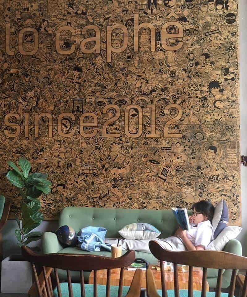 Top 5 Quán Cafe Sách Đẹp Nhất Đà Nẵng -  - Green & Brown Bookstore | Nhã Nam Books N' Coffee | The Book Library & Cafe 25