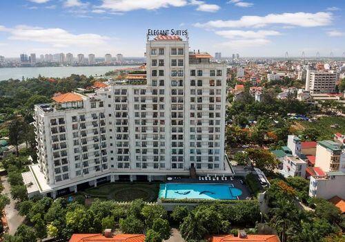 Top 5 Khách Sạn Có Bể Bơi Sang Chảnh Tại Hà Nội - - Apricot Hotel | Crowne Plaza West Hanoi | Elegant Suites Westlake 29