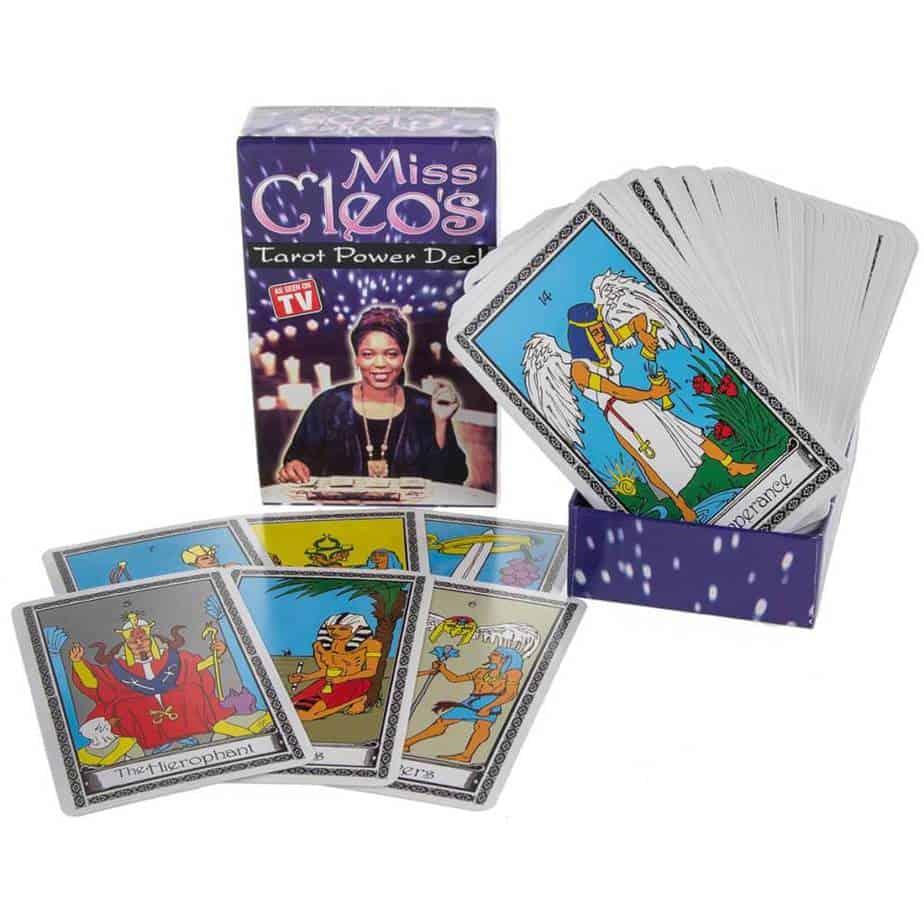 Bộ Bài Tarot Miss Cleo's Tarot Card Power Deck