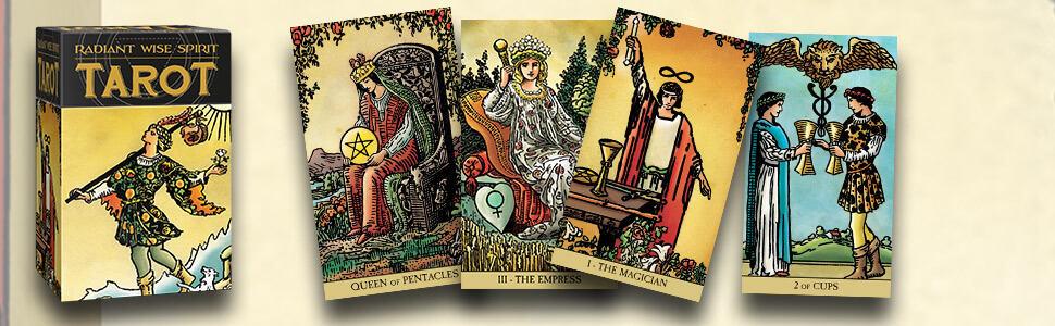 Bộ Bài Radiant Wise Spirit Tarot Phù Hợp Cho Người Mới Chơi