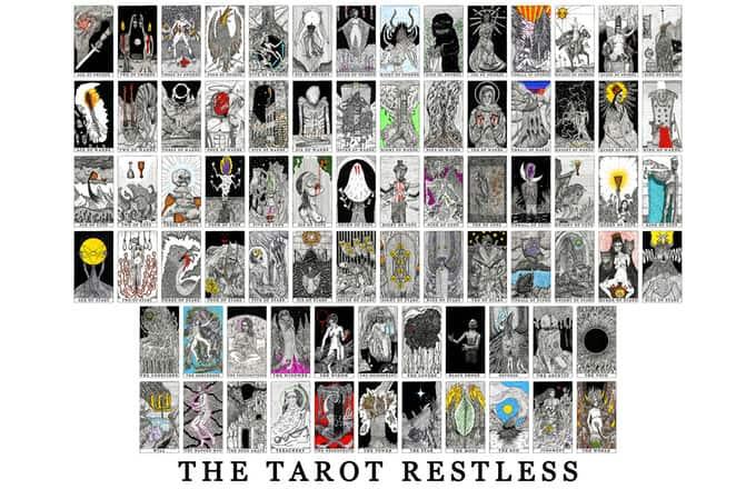 Bộ Bài Tarot Lạ The Tarot Restless