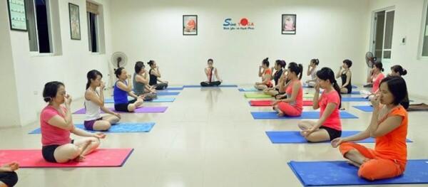 - Top 7 Địa Điểm Tập Yoga Tốt Nhất Tại Hà Nội