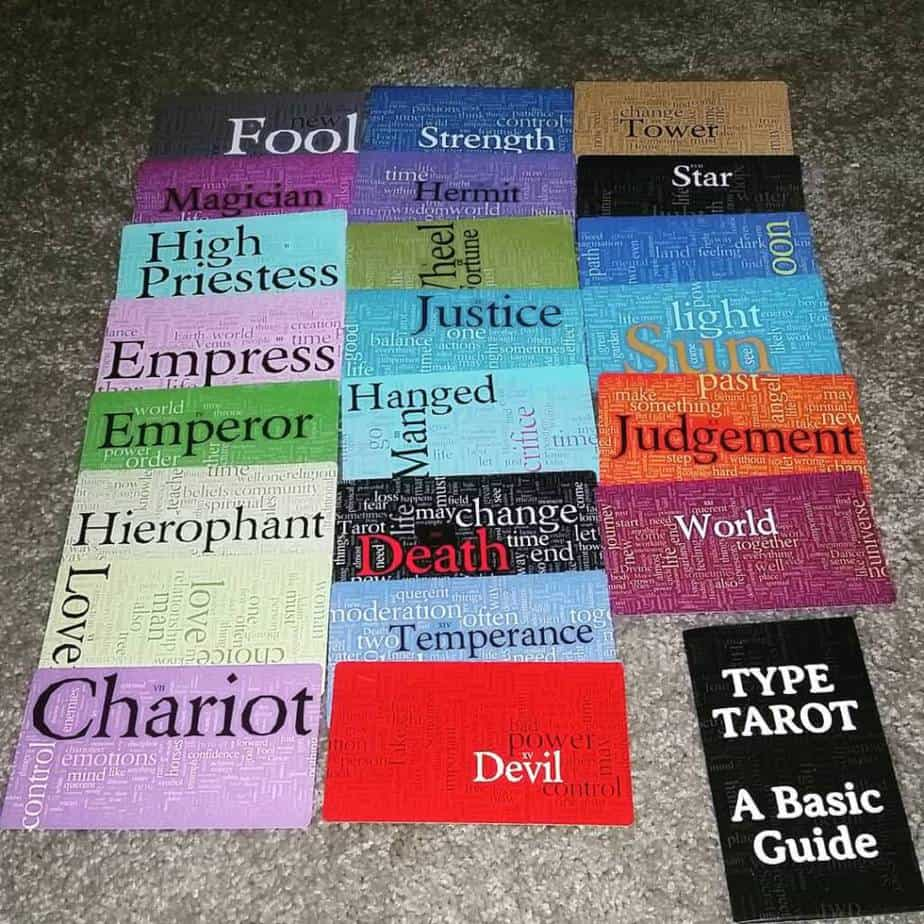 Type Tarot Là một trong những bộ bài tarot lạ đáng mua