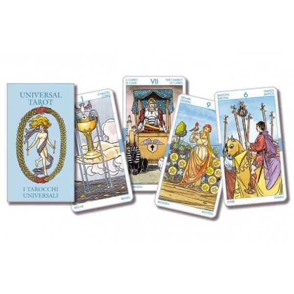 Bộ bài Tarot giá 550k - Universal Tarot – Pocket Edition