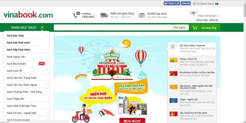 - Top 7 Website Bán Sách Online Nổi Tiếng Nhất Hiện Nay