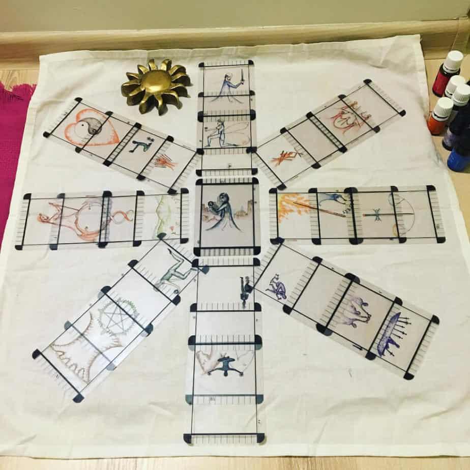 Địa Chỉ Bán Bộ Bài Tarot Lạ - Transparent Tarot