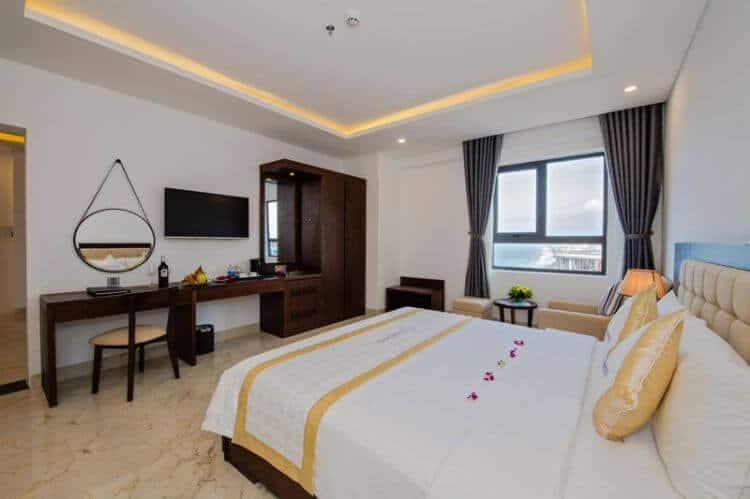 Top 5 Khách Sạn 2 Sao Chất Lượng, Giá Rẻ Tại Đà Nẵng -  - Khách Sạn Hoài Sang   Khách Sạn New Sky   Khách Sạn Rich 39