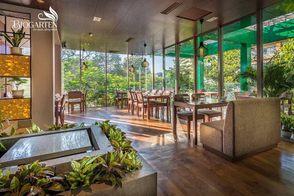 Top 5 Nhà Hàng Chay Ngon, Hút Khách Tại Tp. Hồ Chí Minh - nhà hàng chay ngon - Chay Mandala | Nhà Hàng BioGarten | Nhà Hàng Chay Here & Now 37