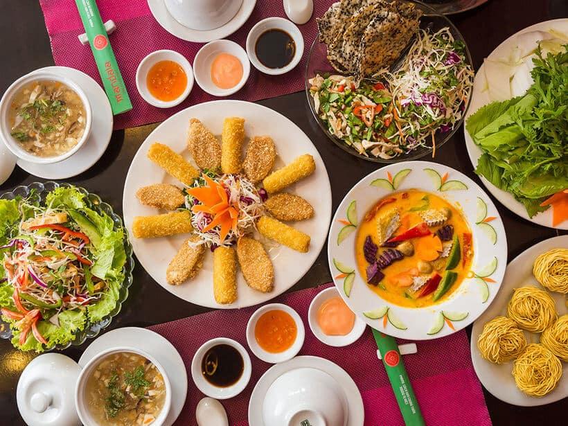 Top 5 Nhà Hàng Chay Ngon, Hút Khách Tại Tp. Hồ Chí Minh - nhà hàng chay ngon - Chay Mandala | Nhà Hàng BioGarten | Nhà Hàng Chay Here & Now 23