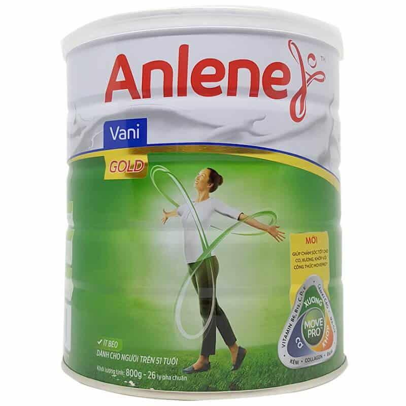 Anlene Gold sữa chống loãng xương tốt nhất