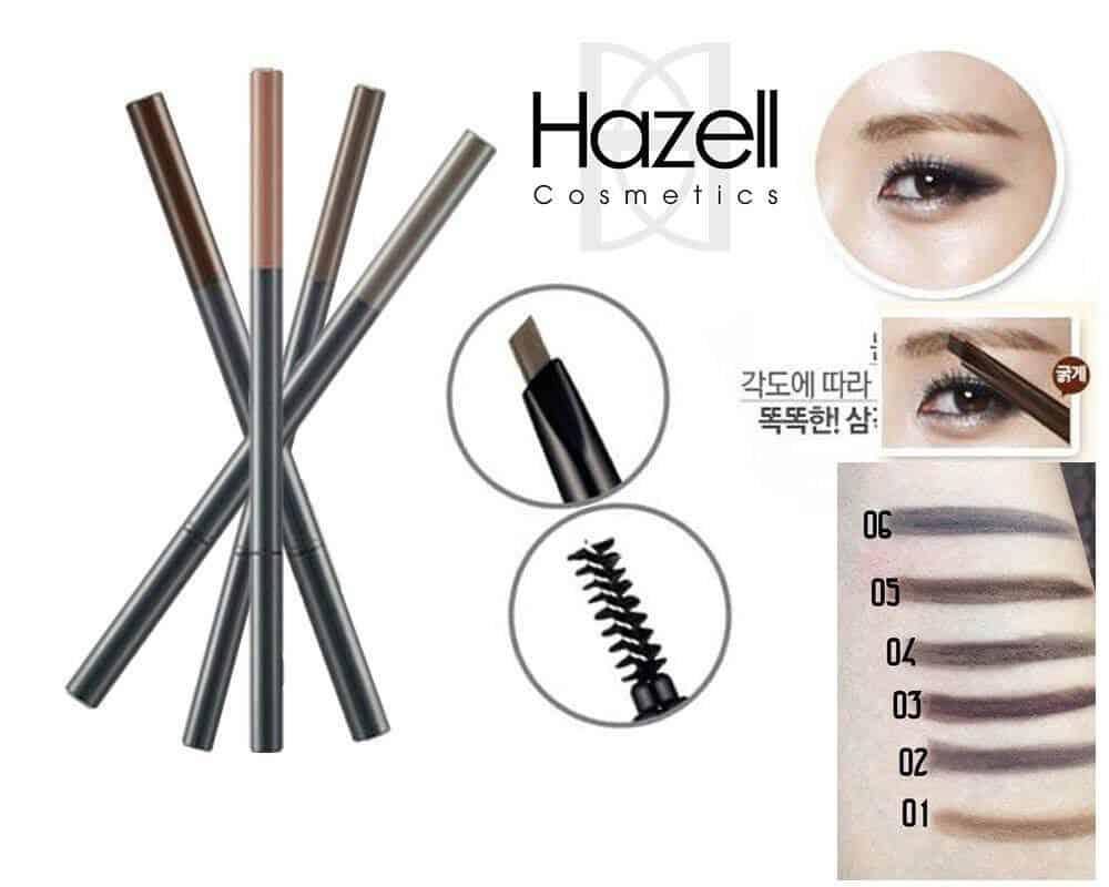 The Face Shop Designing Eyebrow Pencil chì kẻ mày bền màu