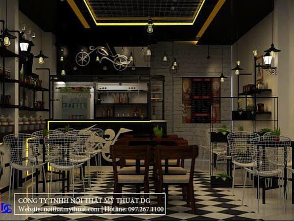 Top 3 Công Ty Thiết Kế Nội Thất Quán Cà Phê Đẹp Tại TP HCM - công ty thiết kế nội thất quán cà phê đẹp - Công Ty TNHH phát triển Tuệ Nhân   Nội Thất Mỹ Thuật DG   Nội Thất Unique Decor 19