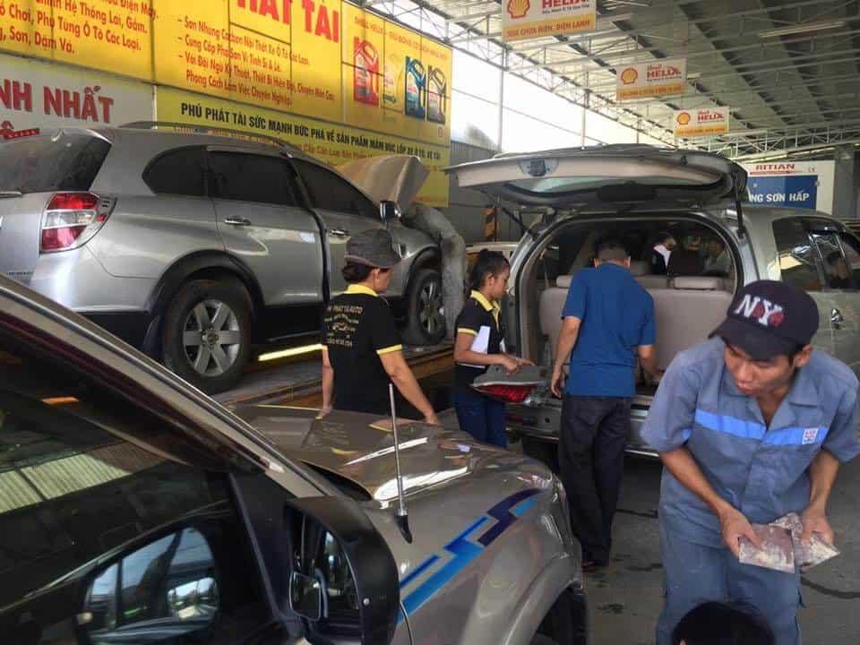 Gara ôtô Phát Tài đại chỉ sửa chữa ô tô uy tín