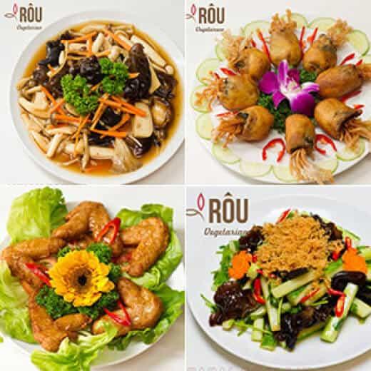 Top 07 Nhà Hàng Chay Ngon Có Thiết Kế Đẹp, An Nhiên Ở Sài Gòn -  - Ăn Chay | Nhà hàng Chay & Coffee Rôu | Nhà hàng chay Đất Lành 63