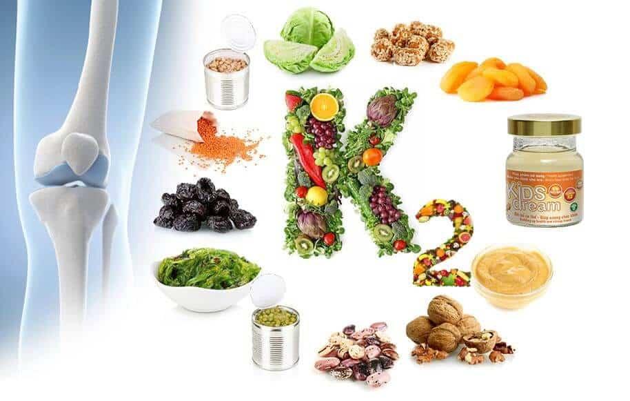 vitamin k2 nhóm thực phẩm giúp cải thiện tình trạng loãng xương