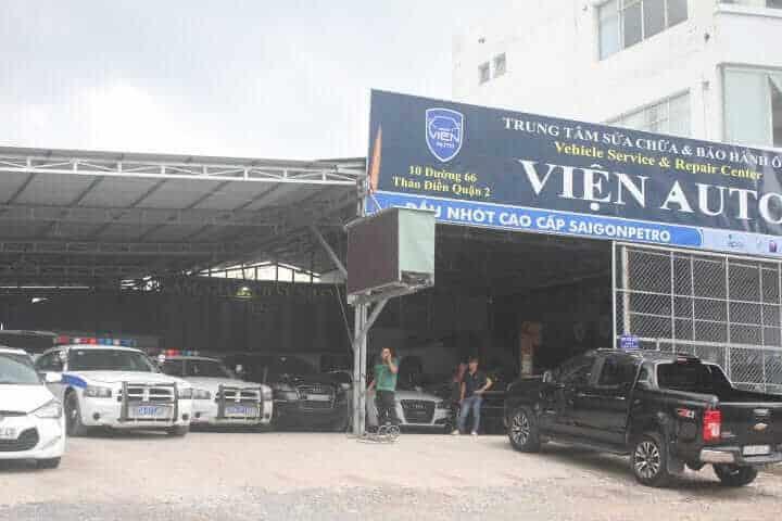Gara Viện Auto địa chỉ sửa chữa ô tô uy tín