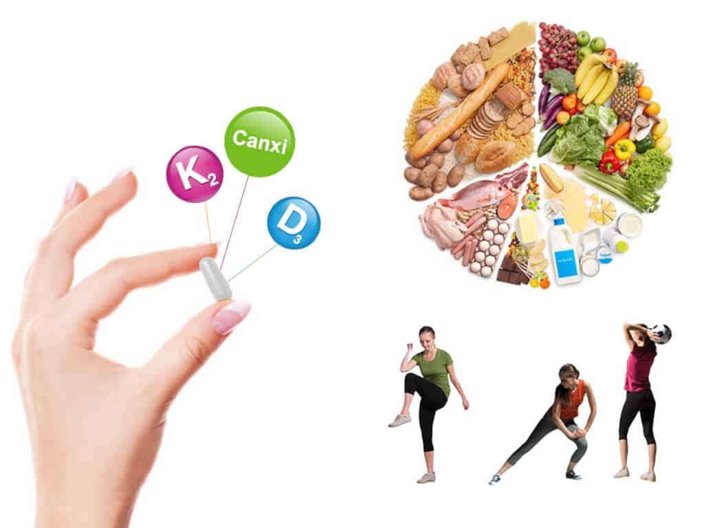 Nhóm thực phẩm giúp cải thiện tình trạng loãng xương được dùng nhiều nhất hiện nay